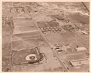 Jacobs-Sanders Field - home of the Tri-City Padres 1970-72