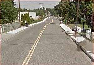 Benton City tagger identified (Google Street View)