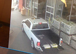 Suspect hit and run vehicle (Kennewick police)