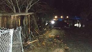 Car vs Fence in Pasco (Dave Allen-Pasco police)