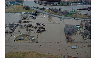 Yakima River Flooding, modern times (Benton County Emergency Services)