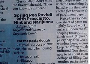 420 pot recipe Spokesman Review (Townsquare Media)