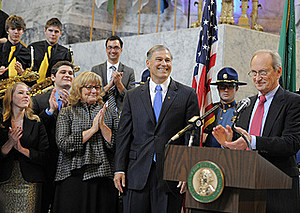 Inslee recall petition slows pace a bit.   (Getty-WA state Gov office)
