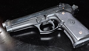Suspect's firearm found by Pasco police (Pasco police)