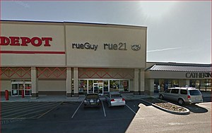 Rue21 Kennewick. Bloomberg says chain facing serious issues (Google Street View)