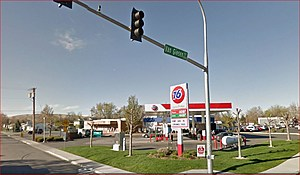 Wright and Van Giesen, location of passed out suspects (Google Street View)