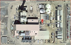 Despite suspension of natural gas plant applications, special interests still protesting (Google Earth)