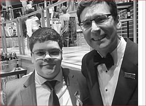 Attorney General Bob Ferguson and Gavin Grimm (Attorney General's office)