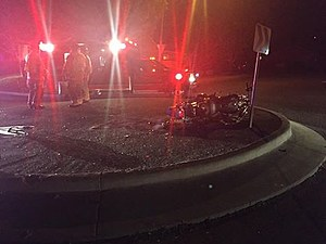 Impaired rider dumps bike in roundabout (Richland police)