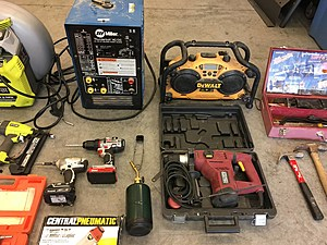 Richland stolen property, LOTS of tools (Richland police)
