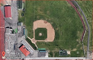 Twin City Titans to salute Vets on June 24th (Google Earth)