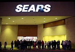It is hoped that selling Sears Kenmore appliances on Amazon will help provide needed money to prop up the rest of the Sears store lines. (Getty Images)