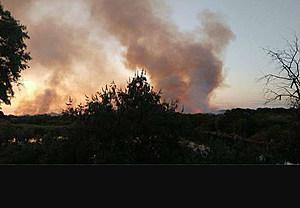 Bateman Island Fire (Travis Brett)