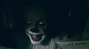 Pennywise the Clown from IT (Official trailer still image)