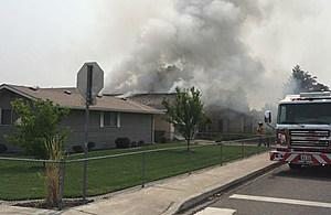 Pasco house fire Thursday (Pasco police)