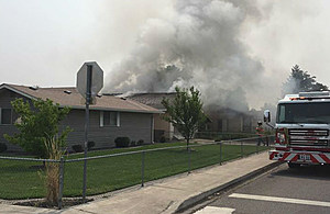"House ""re-ignites"" itself late Thursday night (Pasco police)"