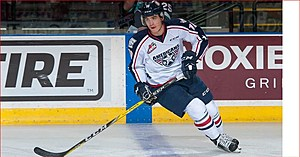 Coghlan, who will likely start the season in Vegas' AHL affiliate. (Tri-City Americans, Las Vegas Golden Knights)