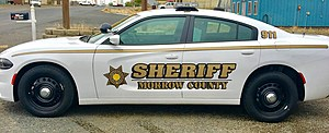 Deputy involved in early Friday morning shooting on I-84 (Morrow County Sheriff's office)