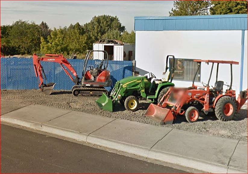 Suspect tried to siphon gas from vehicle, equipment at West Richland Rentals (Google Street View)